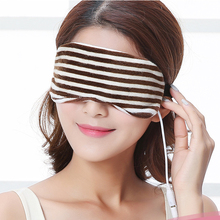 USB Heating Steam Goggles Electricity Hot Compress Sleeping Eye Vibration Massage <strong>Massager</strong>