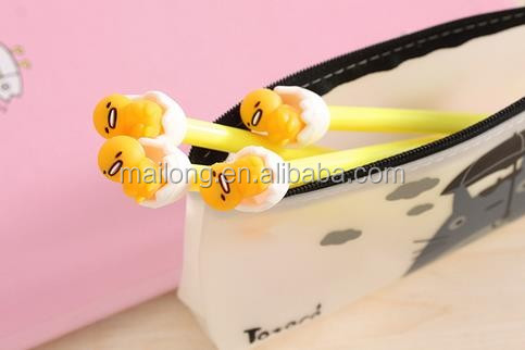 Paragraph, lazy balls black water-based pen cute cute 3 d balls neutral pen pen jun 0.38 mm PN3375