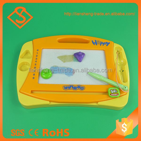 New product early teach magnetic drawing board education toy for kids
