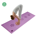 2018 best travel custom PU yoga mat manufacturer