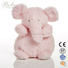 Wholesale custom plush stuffed pink elephant toys custom plush toy for infant toy
