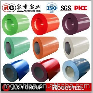 china gi roof sheets and color coated steel coil supplier