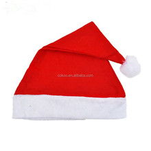50 pcs/lot Christmas Hats for Christmas Tree Decorations Supplies and Table Place Decoration