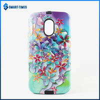 [Smart Times] Custom Phone Case With Any Pattern PC & TPU Cover For Motolora G2