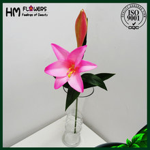hot sale lily flower hotel decor artificial flowers in bulk