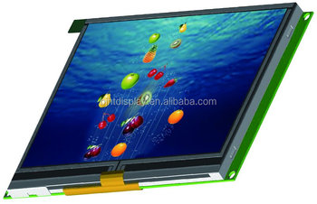 IPS 10.1 inch TFT LCD 1280*800 LVDS interface with Capacitive touch screen