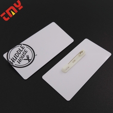 Hot Sale Waterproof Clear Plastic Name Badge Holders Made In China
