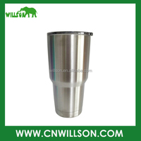 Nice shape double wall stainless steel coffee mug