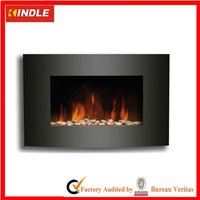 "1500W Adjustable Heat Electric Wall Mount Fireplace 35""x22"""
