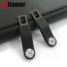 China supplier design zipper double pull reversible slider