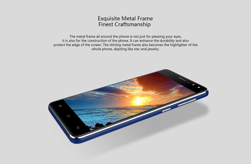 3G 5inch Android6.0 Cagabi One Smart Cell Phone MT6580A Quad Core1.3GHz High-speed Smart Chip IPS1280*720 Dual SIM TF32G
