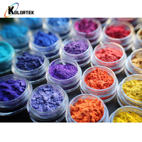 Cosmetic grade pearlescent color mica powder pigment for makeup
