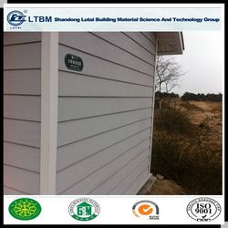 Heat insulation Exterior Wood Grain Siding Wall Panel for Building & Decoration Material