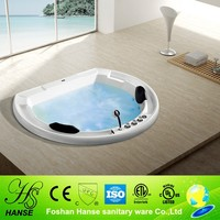 HS-BC665 drop in whirlpool bathtub,built-in acrylic bathtub in floor
