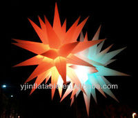 New christmas inflatable 3D lights hanging star