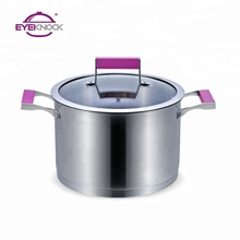Masterclass premium stainless steel cookware cooking pot