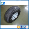 Small rubber wheel 4.10/3.50-4 with matel rim and ball bearing