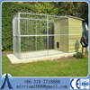 large heavy duty galvanized dog cage for sale ,large animal crate dog boarding kennel cages