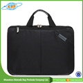 Custom Made Cheap Polyester Laptop Bag With Zipper Main Compartment