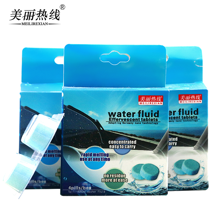 Jieya China Supplier Factory wholesale Effervescent Tablets Detergent for Car Windshield Glass <strong>cleaner</strong>
