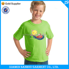 Lovely Santa Design Children Tshirt Printing With Factory Price