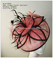 BY-SF632-sinamay feather fascinator/Sinamay hats