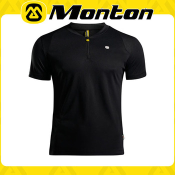 Hot-sale black knight cool&fitness skin-tight sports short sleeve athletic t-shirts/cycling wear/outdoor clothing 2015 monton