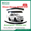 Bonnet Protector Guard for Nissan Navara D40 Spanish Model June/2010-2014