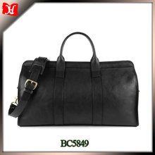 High quality travel genuine leather shoulder bag us polo travel bag parts