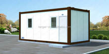 Container house design easy to install with balcony