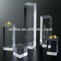 Acrylic solid ring display block customized Guangdong factory