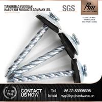 Hardware furniture of roofing screws 65-90 mm Roofing nail Screws
