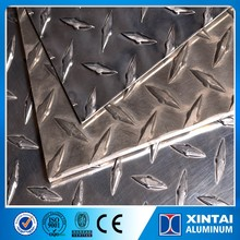 Cheap Price A3003 3004 O H12 Aluminum Tread Plate For Wall Decoration
