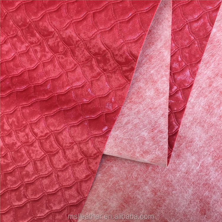 Decorated PVC Leather , Textiles & Leather Products