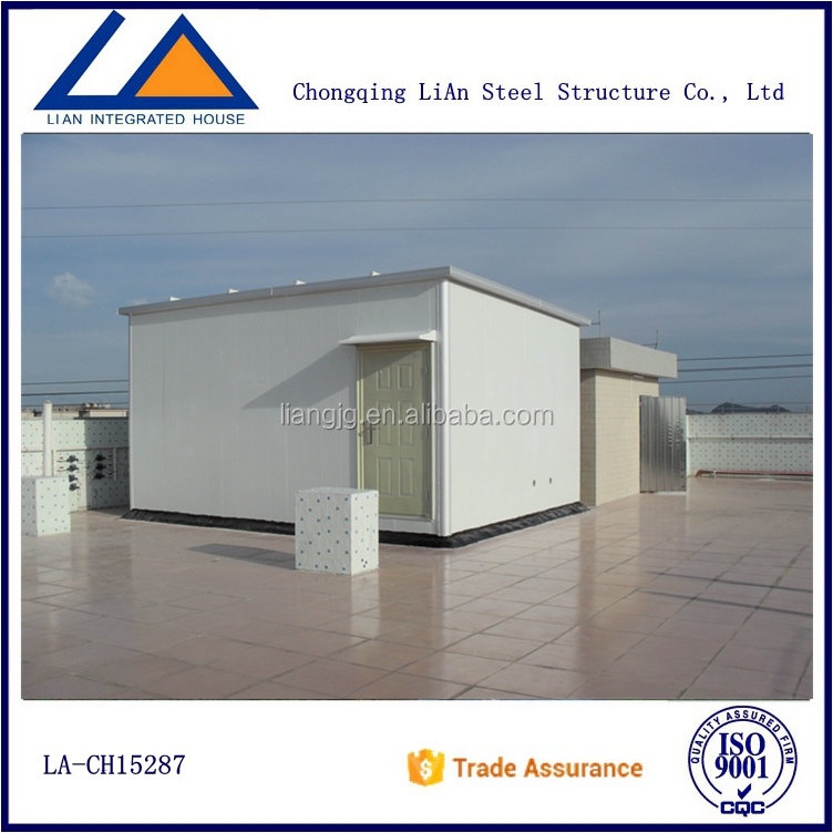 China Flat Roof Container House Designs