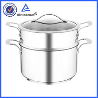 s/s 304 18/10 material WITH lid lead in stainless steel cookware