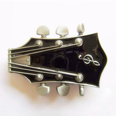 2015 special guitar belt buckle as accessories