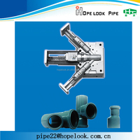 High quality pipe fittings moulds plastic mold pe injection plastic