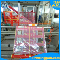 custom plastic packaging roll automatic packing film