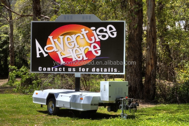 YEESO Outdoor LED Digital Mobile Billboard for Advertising Trailer YES-T5, Movies, TV Live