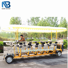 manufacturer discount price the beerbike tour crawl quadricycle pedal pub, party bike, beer bike for sale