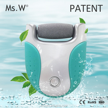 Ms.W Best Selling Products Professional Electric Pedicure Foot File Dead Dry Skin Callus Remover from China Manufacturer