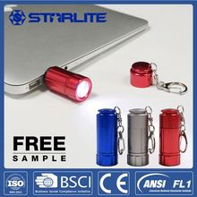 STARLITE Eco-Friendly usb rechargeable led with torch light