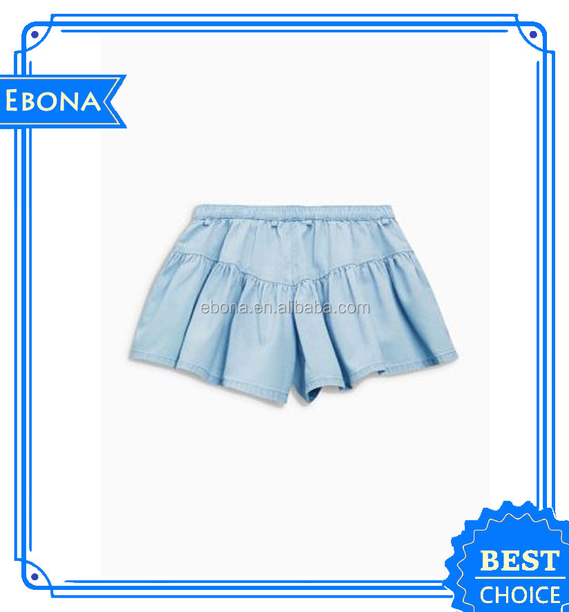 Wholesale Baby Girl Dress Designs Girls in Short Skirts Girls Jean Skirt