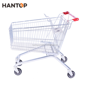 125L supermarket push cart with shopping cart lock HAN-E125C 5617