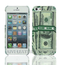 dollar design for iphone 5 PC injection case