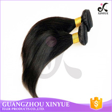 Fine straight human hair 26 pieces trade wholesale for girls high human hair quality