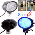Xinruilai 12w 10-80v Warehouse warning light blue spot led safety forklift light