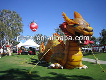 Attractive new inflatable dragon
