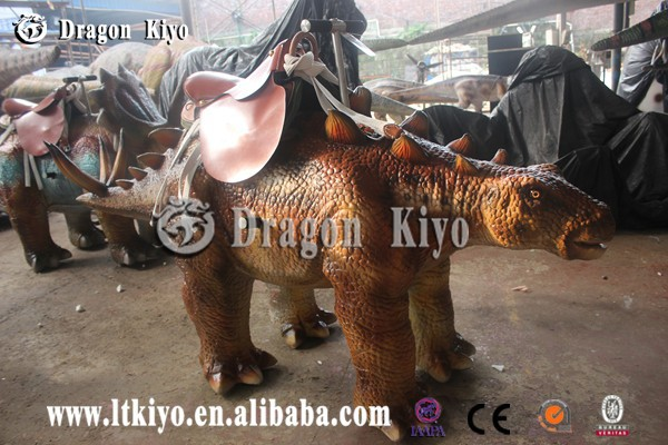 Realistic park dinosaur dinosaur pull carriage for sale